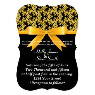 Manosee de buen gusto la abeja invitación 12,7 x 17,8 cm