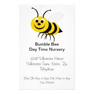 Manosee el aviador del cuarto de niños de la abeja folleto 14 x 21,6 cm