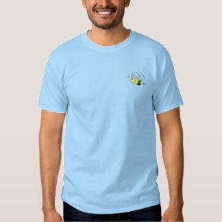 Manosee la abeja camiseta bordada