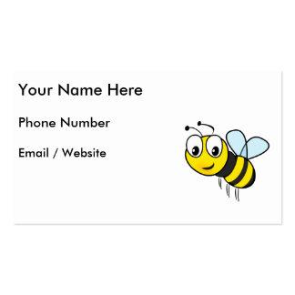 Manosee la abeja, zumbido plantillas de tarjetas personales