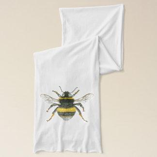 Manosee la bufanda de la abeja