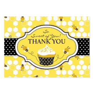 Manosee la etiqueta del regalo de la abeja TY Tarjetas De Visita Grandes