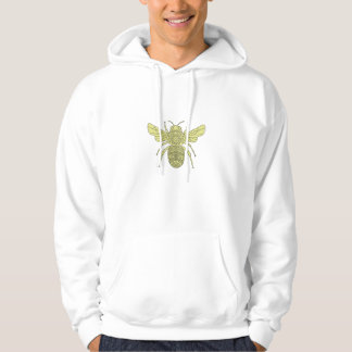 Manosee la mandala de la abeja sudadera