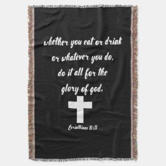 Manta 10:31 de los Corinthians