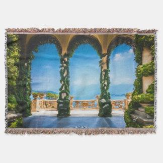 Manta Arcos de elegante colorido de Italia