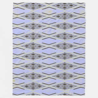 Manta azul del paño grueso y suave del modelo del