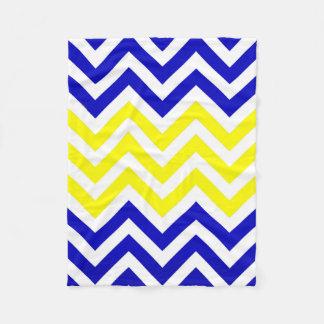 Manta azul y amarilla del modelo de los galones