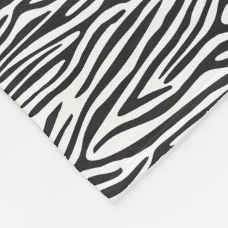 Manta blanco y negro del paño grueso y suave del