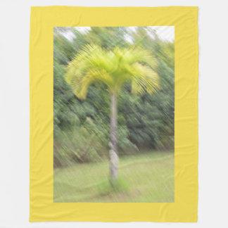 Manta borrosa del Hawaiian de la palmera