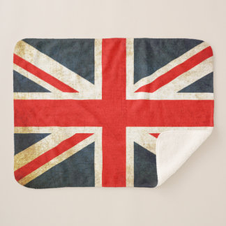 Manta británica de Sherpa de la bandera de Union