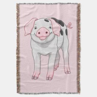 Manta Cerdo viejo lindo de los puntos de Gloucestershire