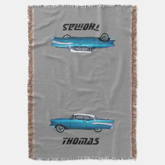 Manta clásica 1957 del personalizado de Chevy