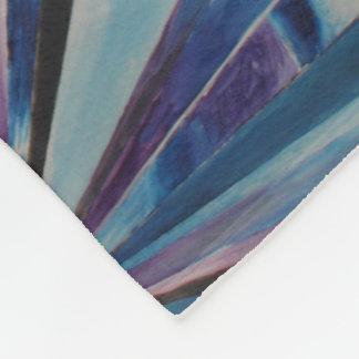 Manta de cristal del paño grueso y suave del