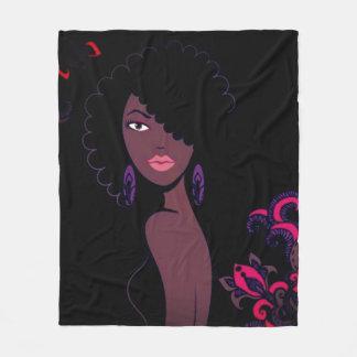 Manta de la belleza de Afrocentric