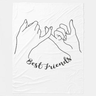 Manta de los mejores amigos