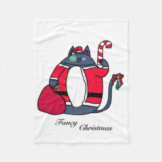Manta de lujo del paño grueso y suave del navidad