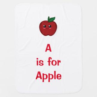 Manta del bebé de Apple Mantita Para Bebé