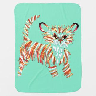 Manta del bebé de Cub de tigre
