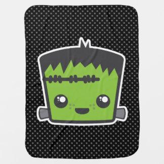 Manta del bebé de Kawaii Frankenstein