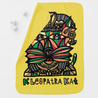 """Manta del bebé de """"Kleopatra Kat"""""""