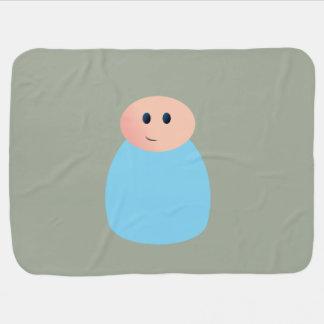 Manta del bebé de la muñeca de la clavija mantitas para bebé