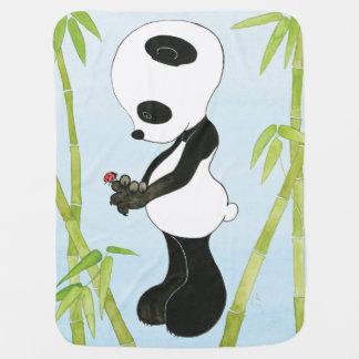 Manta del bebé de la panda