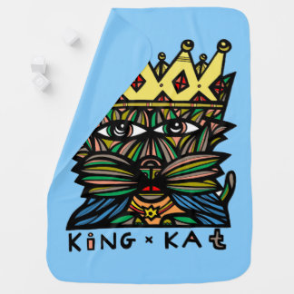 "Manta del bebé de ""rey Kat"""