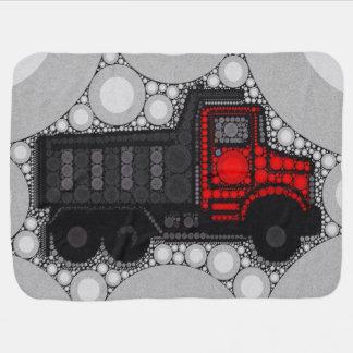 Manta del bebé del camión de Bling Mantitas Para Bebé