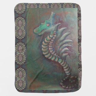 manta del bebé del dragón del seahorse