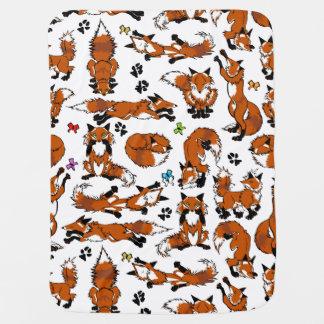 Manta del bebé del Fox rojo