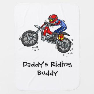 Manta del bebé del motocrós del compinche del mantita para bebé