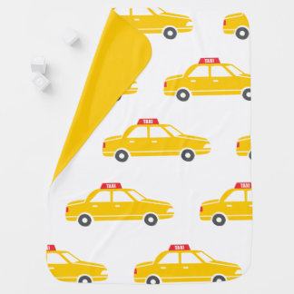 Manta del cochecito del taxi de la ciudad