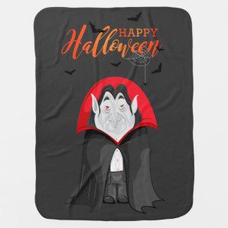 Manta del cochecito del vampiro de Halloween