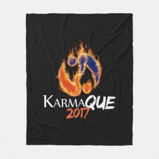 Manta del paño grueso y suave de KarmaQue, medio