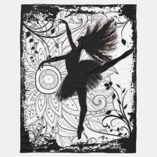 Manta del paño grueso y suave de la bailarina