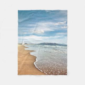 Manta del paño grueso y suave de la playa de Sandy