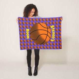 Manta del paño grueso y suave de los baloncestos