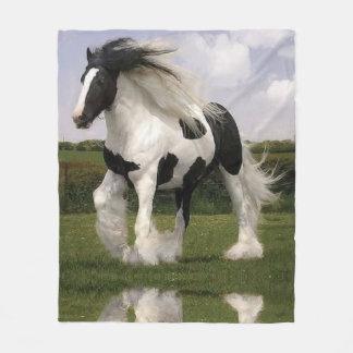 Manta del paño grueso y suave del caballo