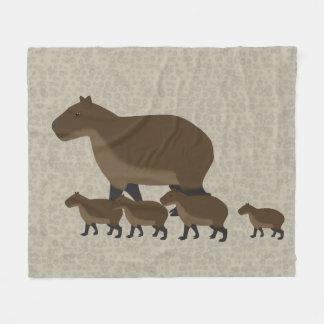 Manta del paño grueso y suave del Capybara