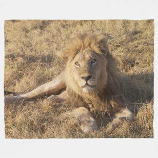 Manta del paño grueso y suave del león