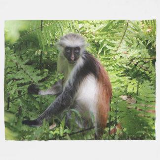 Manta del paño grueso y suave del mono