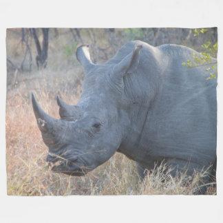 Manta del paño grueso y suave del rinoceronte
