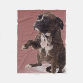 Manta del perro del boxeador