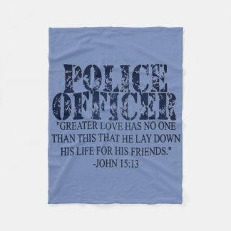 Manta del rezo de la policía