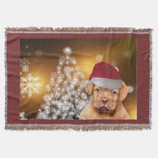 Manta del tiro de Christmas Dogue de Bordeaux