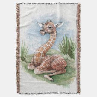 Manta del tiro de la jirafa del bebé