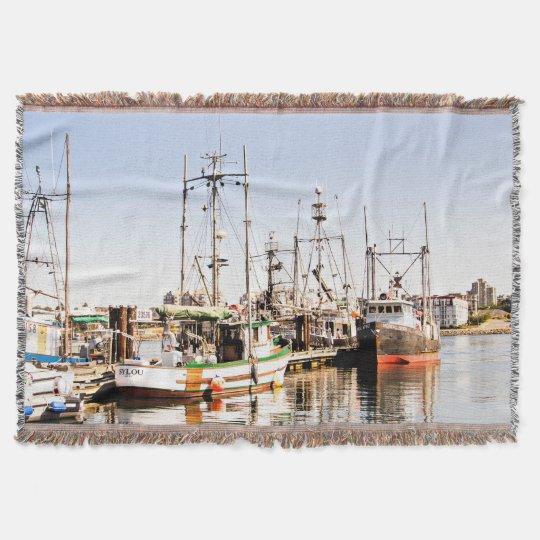 Manta del tiro del buque del barco de pesca