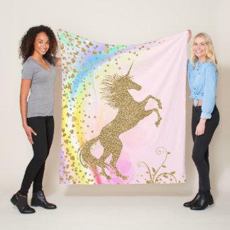 Manta del unicornio de los chicas