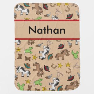 Manta del vaquero de Nathan