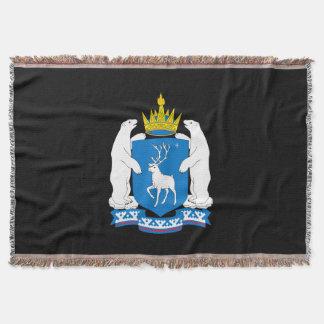 Manta Escudo de armas de Yamal-Nenetsia